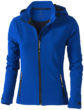 Damen Softshellacke Langley - in blau
