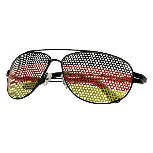 Deutschland Spaßbrille Nations