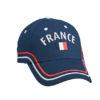 Fan Cap France blau vorne