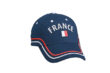 Fan Cap France blau vorne