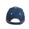 Fan Cap France blau hinten