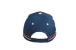 Fan Cap France blau hinten