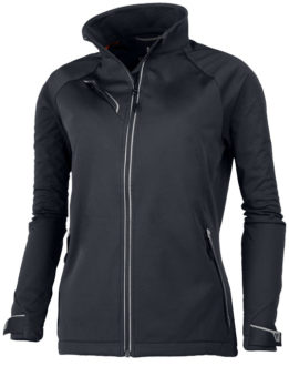 Elevate Kaputar Damen Softshell Jacke - storm grey