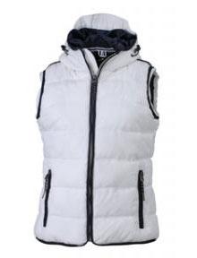 Ladies Maritime Vest - white/navy