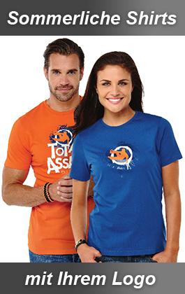 T-Shirts mit Logo