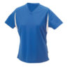 Ladies Running-T James & Nicholson - royal/white