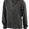 Ladies Running Jacket James & Nicholson - black/black