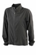 Ladies Running Jacket James & Nicholson - black/black