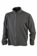 Mens Running Jacket James & Nicholson - black/black