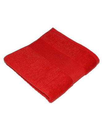 Classic Hand Towel Bear Dream - red