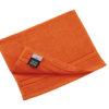 Discreet Guest Towel Myrtle Beach - orange