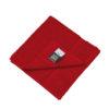 Discreet Hand Towel Myrtle Beach - orient red