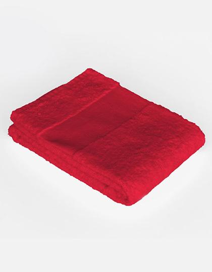 Economy Hand Towel Bear Dream - red