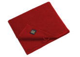 Guest Towel Myrtle Beach - burgundy