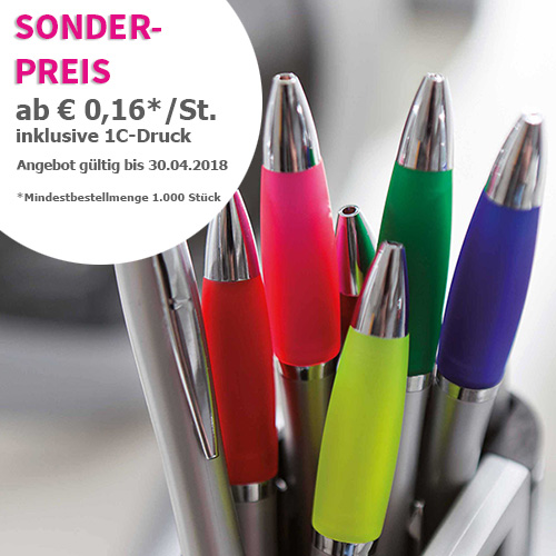 Kugelschreiber-Sonderangebot