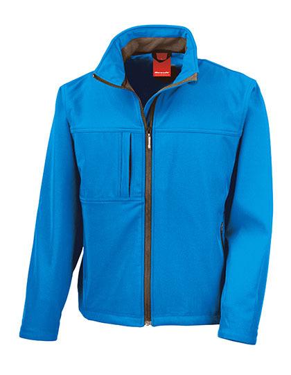 Classic Softshell Jacket Result - azure