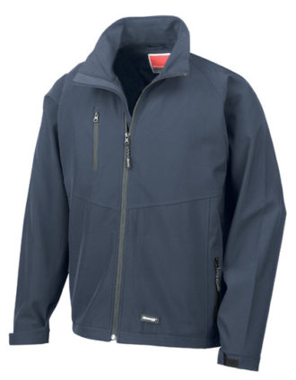 Mens Base Layer Soft Shell Result - navy