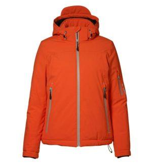 Identity Damen Winter Softshell Jacke - orange