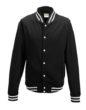 College Jacket Just Hoods - black