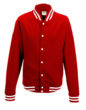 College Jacket Just Hoods - red