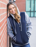 Unisex Heavyweight Vasity Zip Hood Independent