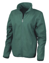 Womens Osaka Combed Pile Soft Shell Jacket Result - forest