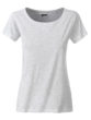 Ladies Basic T James & Nicholson - ash