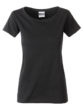 Ladies Basic T James & Nicholson - black