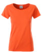 Ladies Basic T James & Nicholson - coral