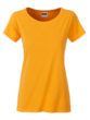 Ladies Basic T James & Nicholson - gold yellow