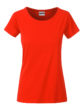Ladies Basic T James & Nicholson - grenadine