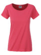 Ladies Basic T James & Nicholson - raspberry