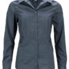 Ladies Business Shirt Long Sleeved James & Nicholson - carbon