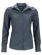Ladies Business Shirt Long Sleeved James & Nicholson - carbon