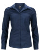 Ladies Business Shirt Long Sleeved James & Nicholson - navy