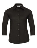 Ladies Fitted Shirt Russel - black