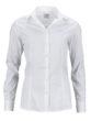 Ladies Shirt Slim Fit James & Nicholson - white