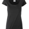 Ladies T James & Nicholson - black