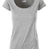 Ladies T James & Nicholson - grey heather