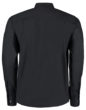 Mens Bar Shirt Mandarin Collar Long Sleeve Bargear - Rückseite