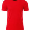 Mens Basic T James & Nicholson - tomato