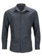 Mens Business Shirt Long Sleeved James & Nicholson - carbon