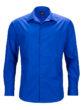 Mens Business Shirt Long Sleeved James & Nicholson - royal