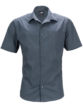 Mens Business Shirt Short Sleeved James & Nicholson - carbon