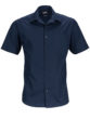 Mens Business Shirt Short Sleeved James & Nicholson - navy