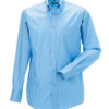 Mens Long Sleeve Ultimate Non-Iron Shirt - bright sky
