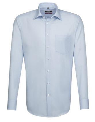 Mens Shirt Modern Fit Longsleeve Seidensticker