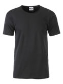 Mens T James & Nicholson - black