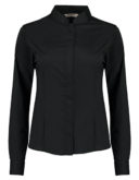 Womens Bar Shirt Mandarin Collar Long Sleeve Bargear