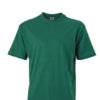 Basic T Shirt James & Nicholson - dark green